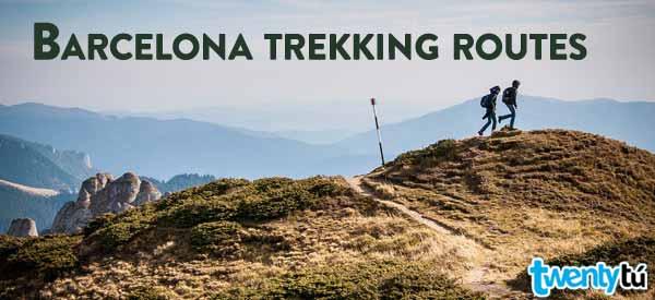 Barcelona Trekking Routes Twentytu hostel