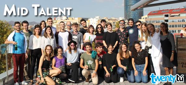 Mid Talent Twentytu jovenes emprendedores