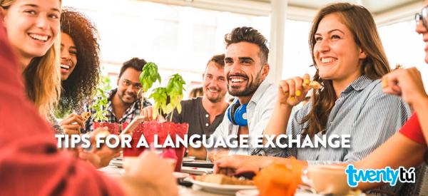 language exchange in barcelona