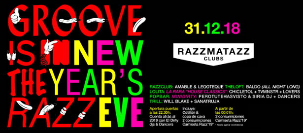 Fin de año en Razzmatazz